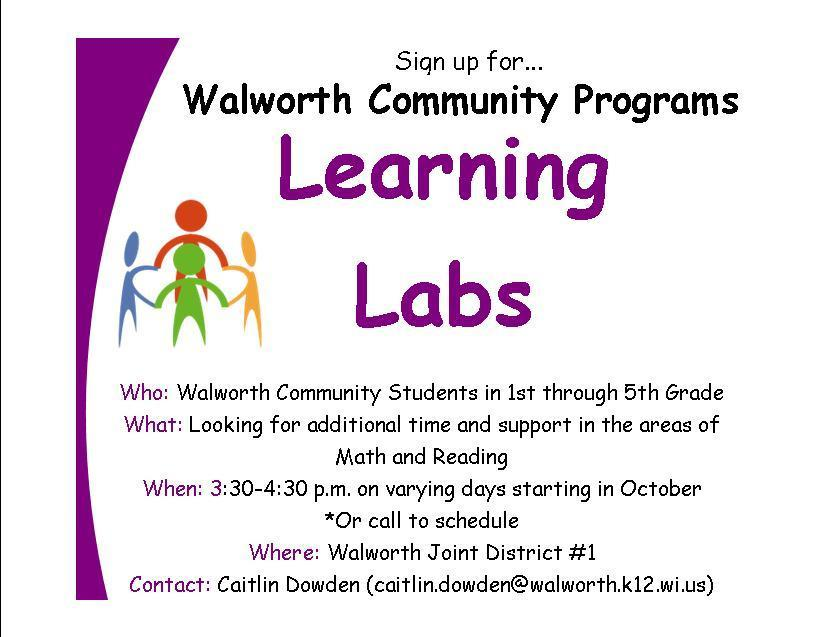 Learning Labs for Grades 1-5