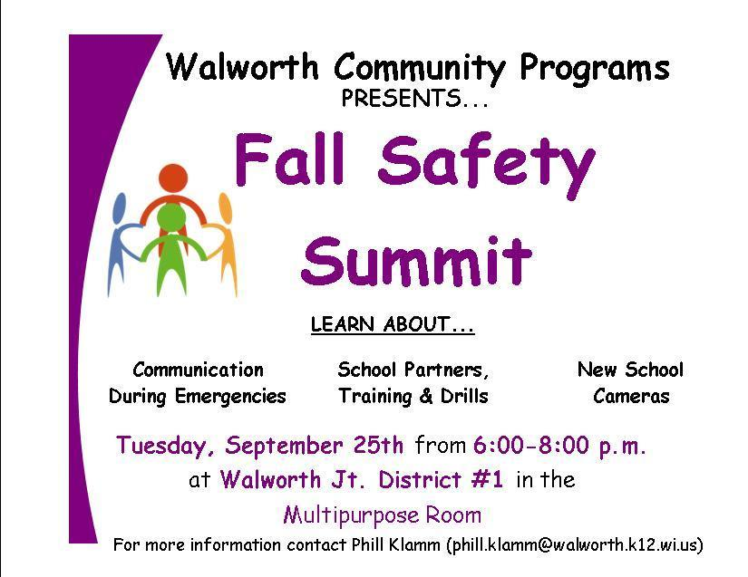 Fall Safety Summit