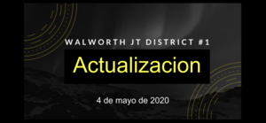 Actualization 4 de mayo de 2020 (Video and Slides)