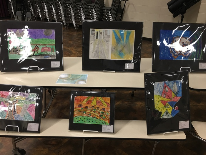 Youth Art Month Winners