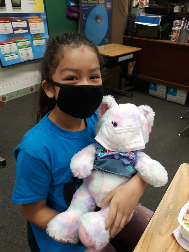 Mrs. Cullen's class had a little fun on Friday with Stuffed Animal Day! #WalworthJ1