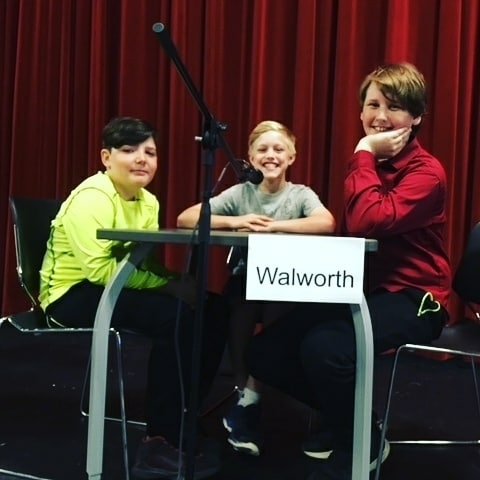 Fifth grade Battle of the Books participants.