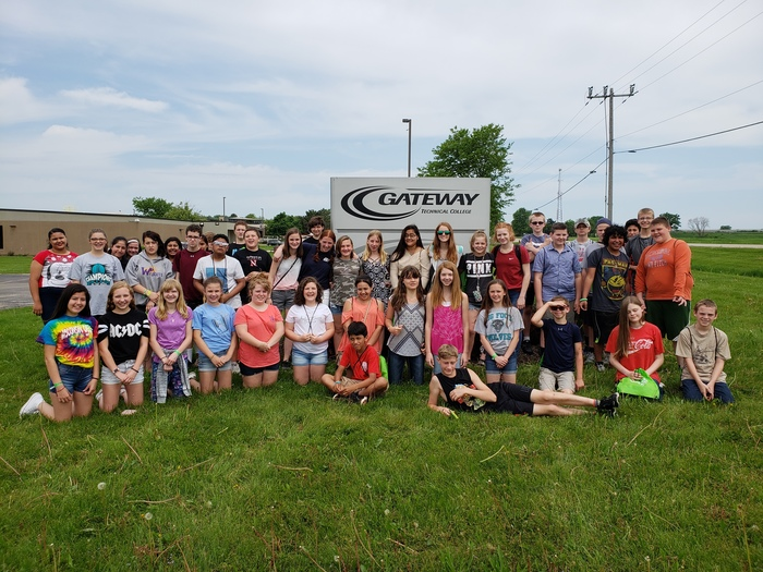 7th Graders Visited Gateway in Elkhorn
