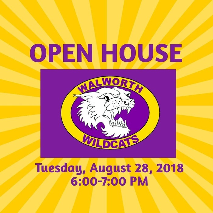 We are looking forward to seeing everyone tonight at Open House! #WalworthJ1