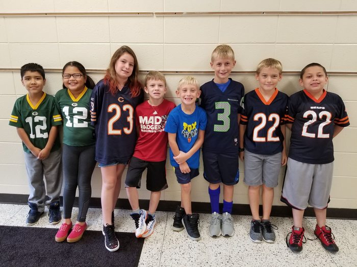 Mrs. Dowden's Class - Packers vs. Bears