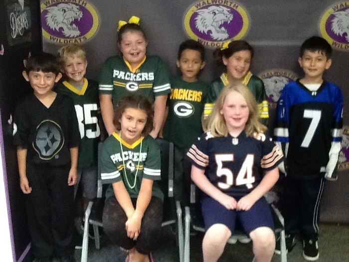 Mrs. Cullen's Class - Packers vs. Bears