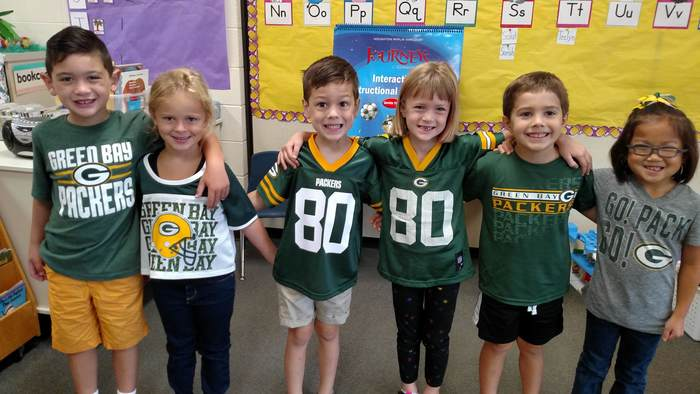 Ms. Koltes' Packer fans!