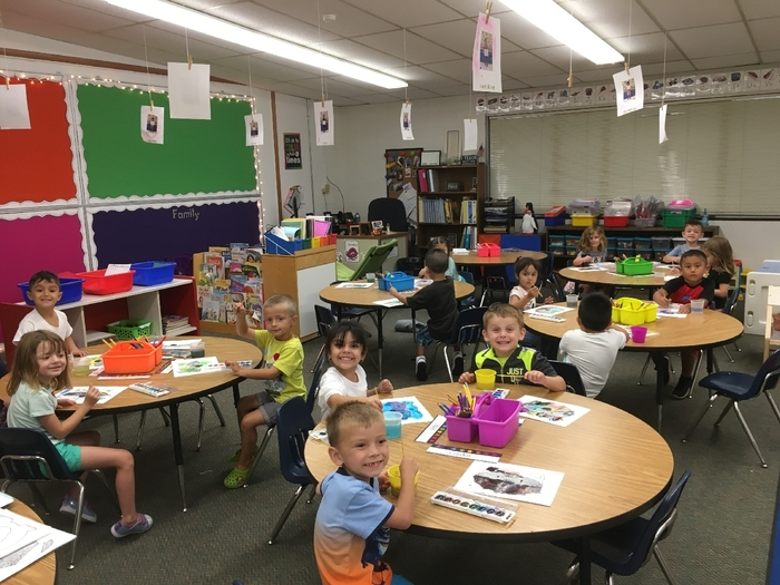 Mrs. Janney's junior kindergartners