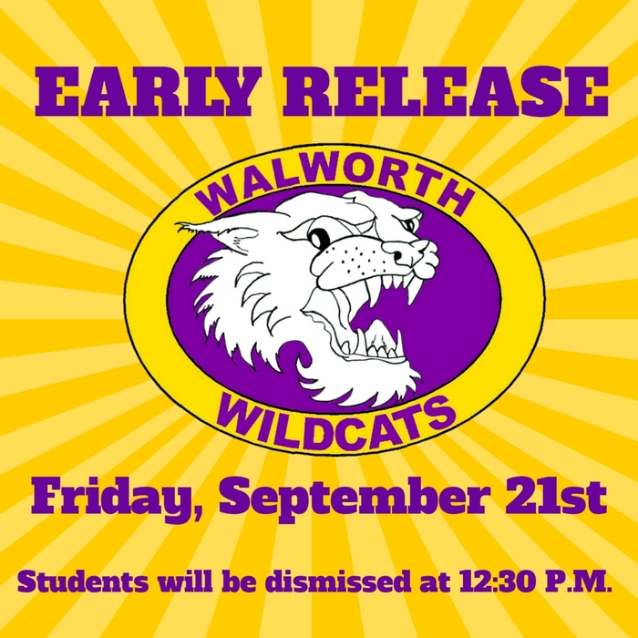 Early Release - September 21st