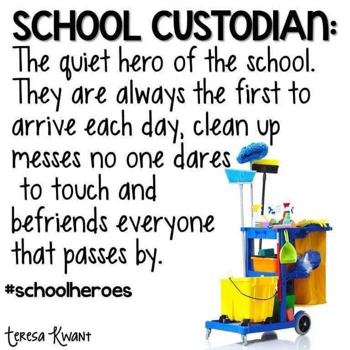 School Custodian Week