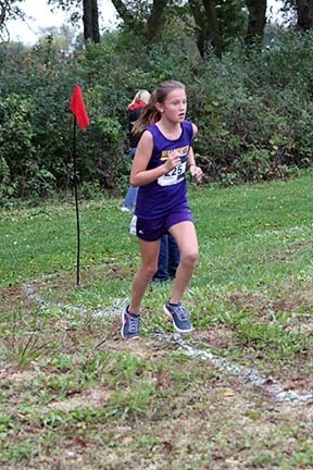 cross country runner