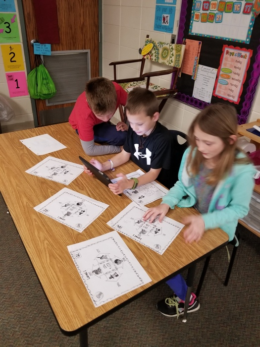 Third graders had a little fun before Fall Break in math trying to complete the Turkey Escape. In order to escape in time, students worked together to solve 3 different levels of problems and puzzles that lead to a complete code. #WeLoveMath #WalworthJ1