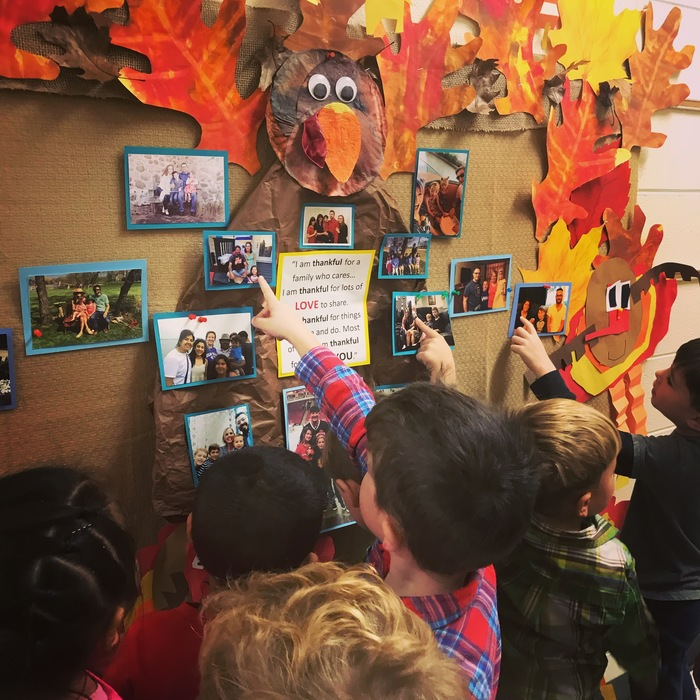 SHARING and CARING about family and friends in Ms. Boldger's class... Have a very safe and HAPPY THANKSGIVING! #WalworthJ1