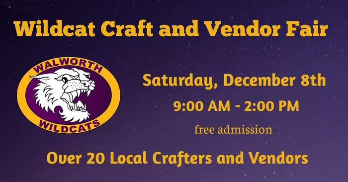 Wildcat Craft and Vendor Fair