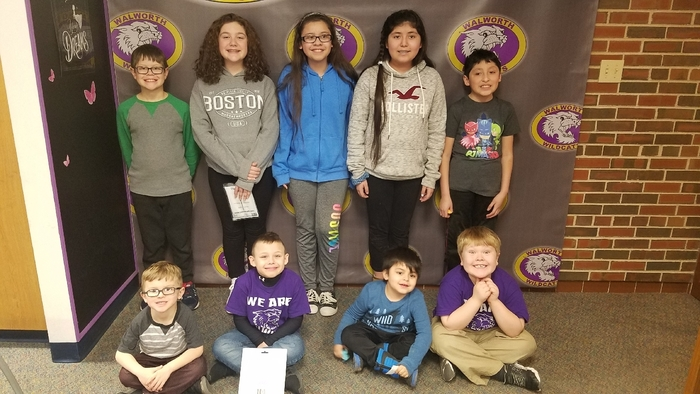Congratulations to this week's Paw Print winners. Students receive a Paw Print for working hard and making Walworth a great school. Way to go Wildcats! #WalworthProud #WalworthJ1