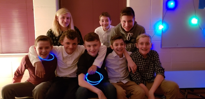 "Our 7th/8th Student Council hosted a fantastic Winter Formal. Students danced the night away and had many laughs playing the ""limbo!"" It was great seeing so many of our students enjoy this social opportunity! #WalworthJ1"