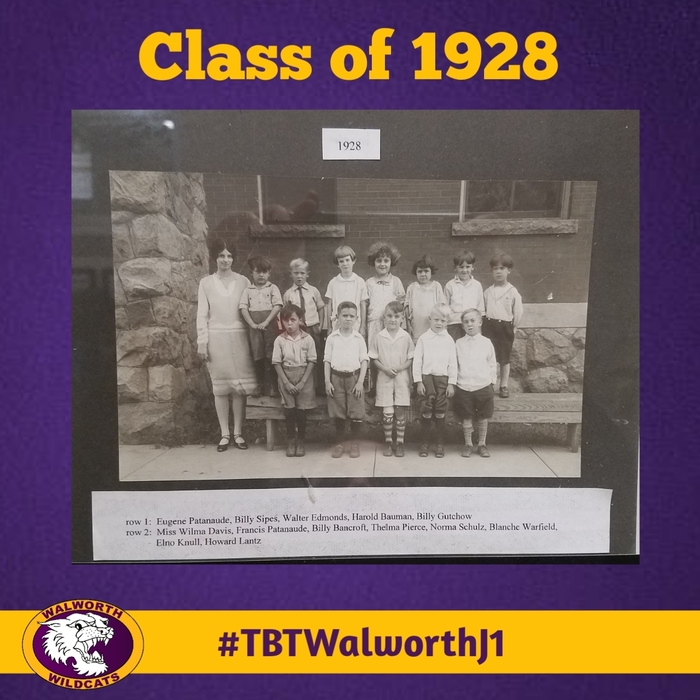 Throwing it waaaaay back! Does anyone know what grade this might be from 1928?  #TBTWalworthJ1 #WalworthJ1 #TBT