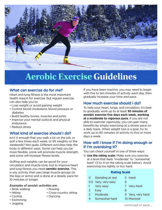 Wellness Tip #2 ~ Aerobic Exercise