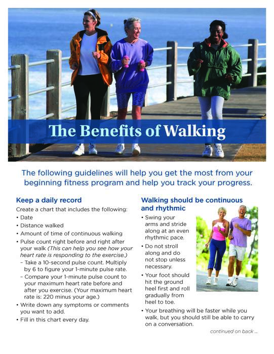 Wellness Tip #3 - Walking