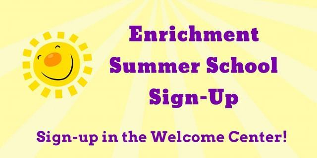 Enrichment Summer School