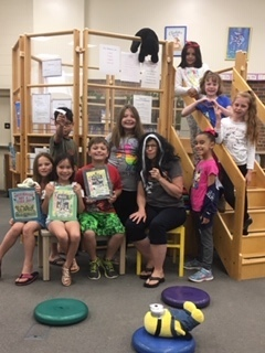 Miss Viola Swamp read some Miss Nelson books to us today, plus we made paper airplanes, made pinecone bird feeders and watched Miss Nelson Returns!
