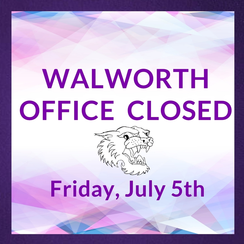 Walworth Office Closed