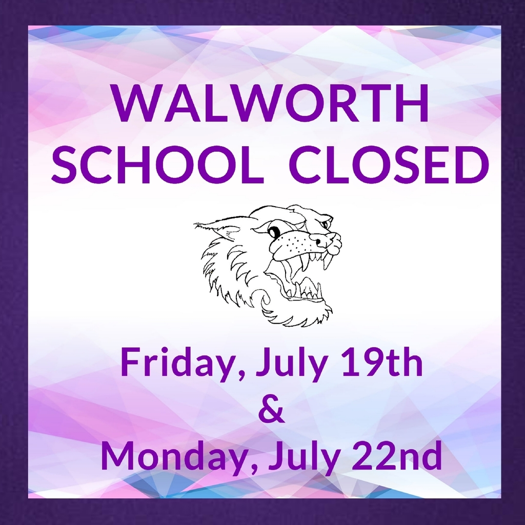 Walworth School Closed