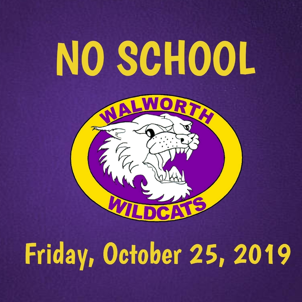 no school Friday, October 25, 2019