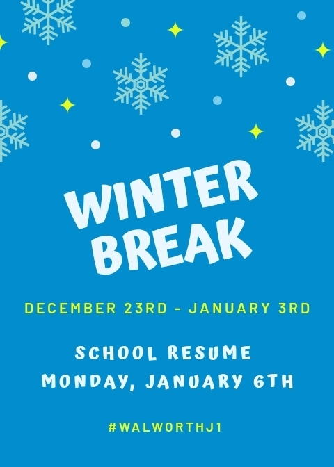 Walworth Winter Break