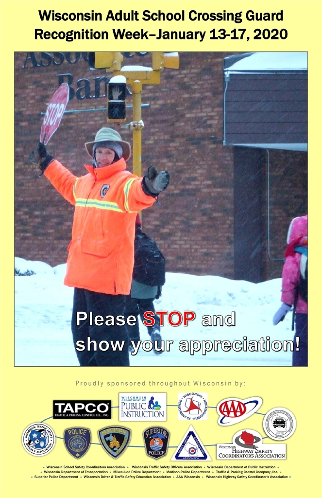 School Crossing Guard Week