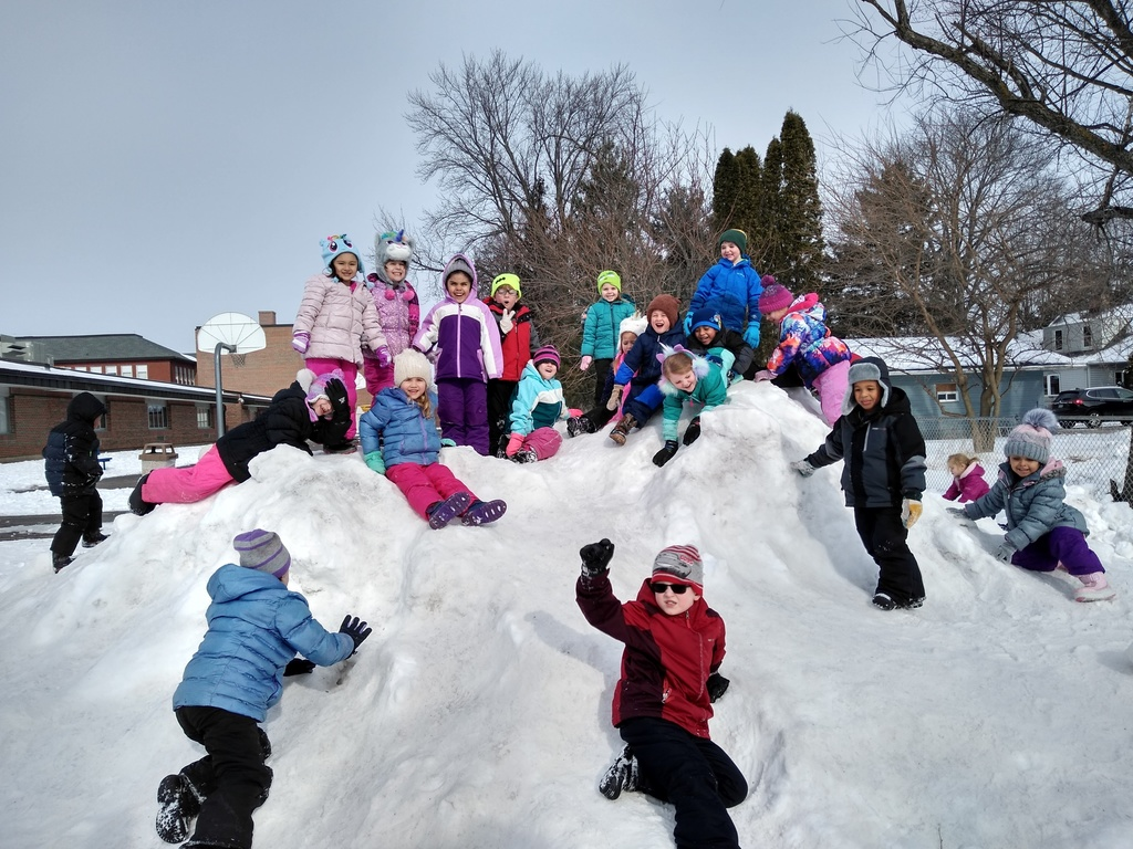 snow at recess