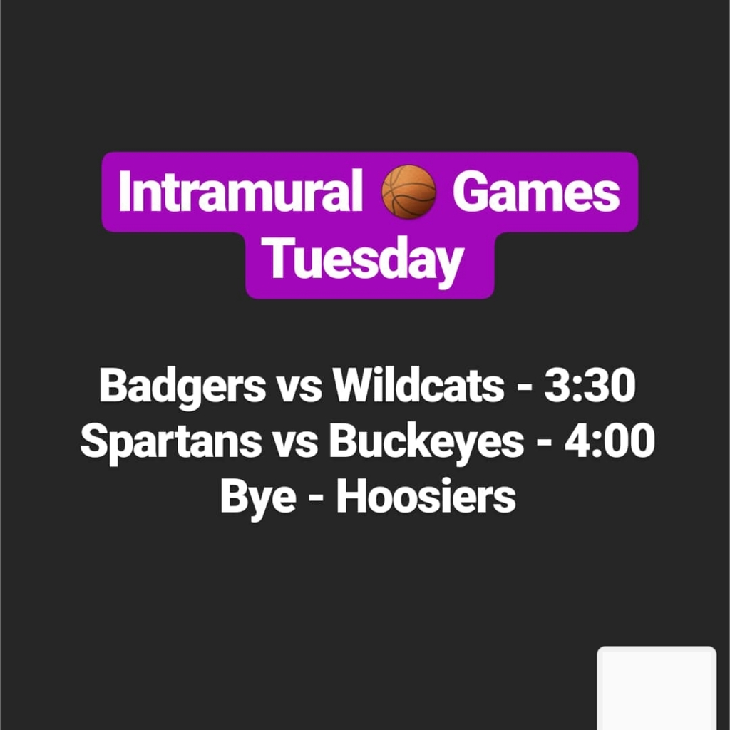 intramural basketball games