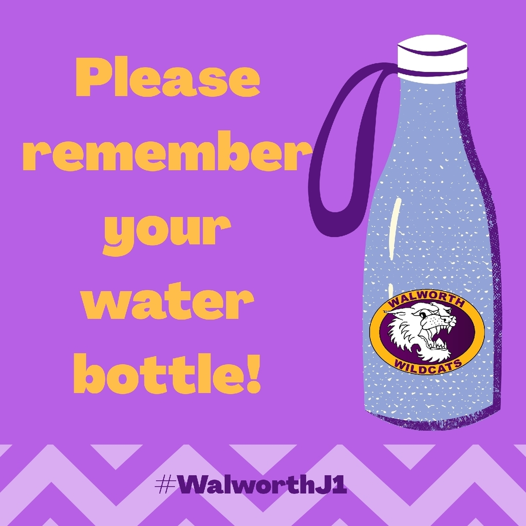 remember your water bottles